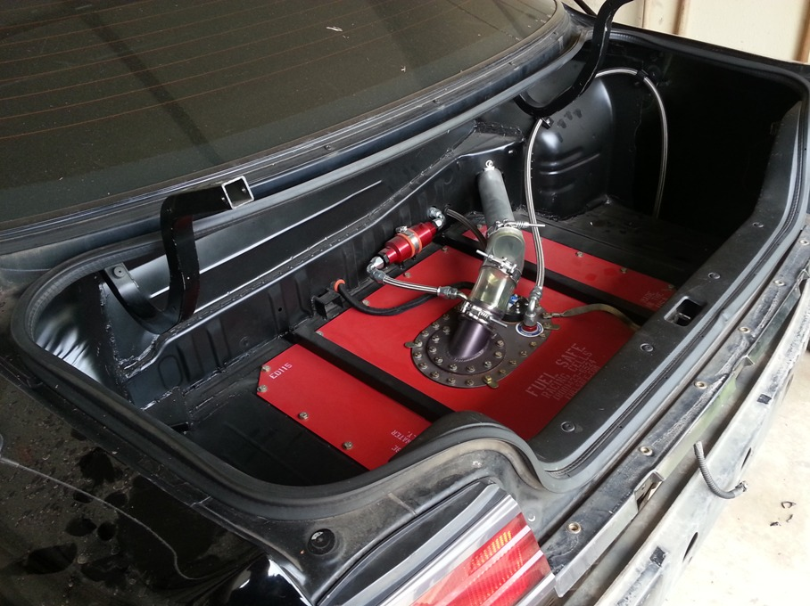 Fuel Cell Removal Rigid Racing