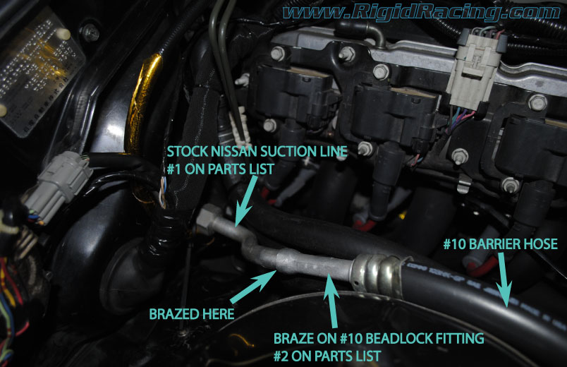 air conditioning in a 240sx an ls1 swap the complete post 240sx ls1 air conditioning suction hose