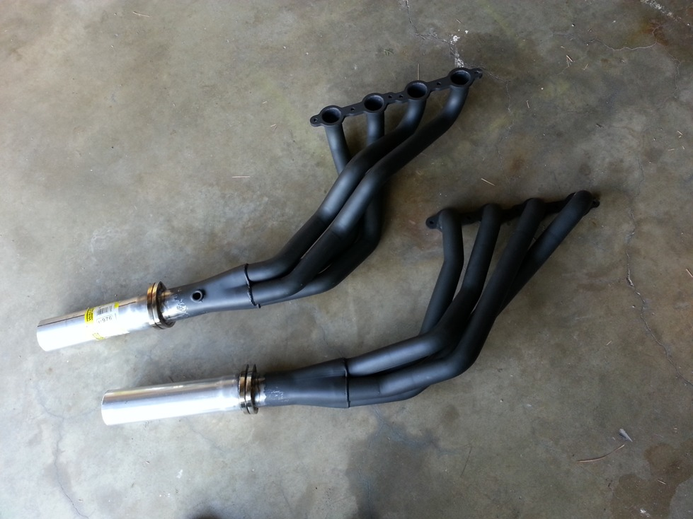 hooker mild steel swap headers